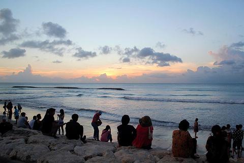 库塔海滩旅游景点攻略图