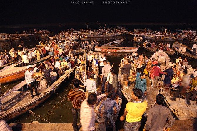 恒河夜祭图片