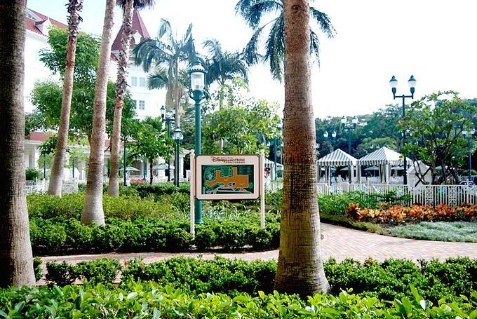 香港迪士尼乐园酒店华特餐厅图片