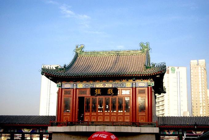 古文化街戏楼图片