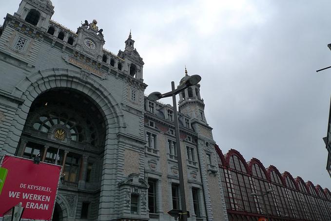 中央火车站图片