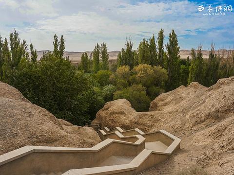 西千佛洞旅游景点图片
