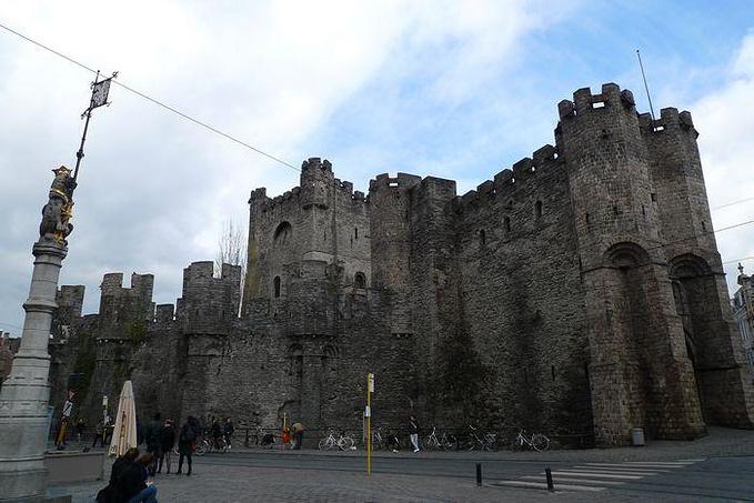 Gravensteen城堡图片