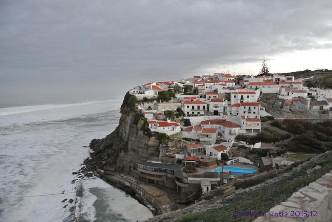 Azenhas do Mar看日出图片