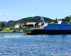 沉醉在挪威的峡湾风光里