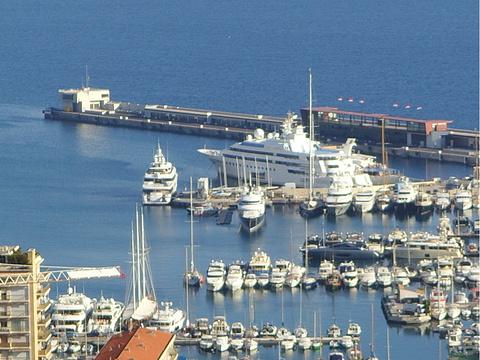摩纳哥港旅游景点图片
