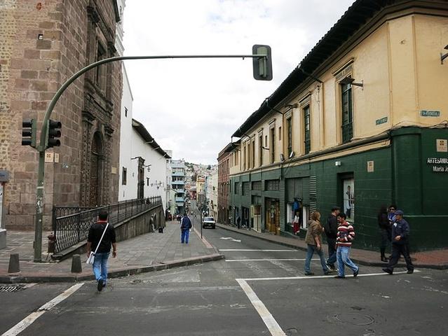 """""""基多古城的街道都很狭窄_格兰德广场""""的评论图片"""
