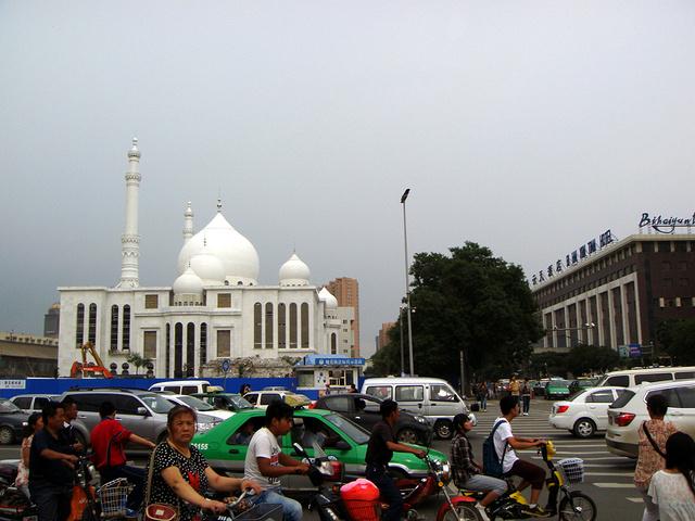 """""""乘公交车可以到""""旧城北门""""站下,_伊斯兰风情街""""的评论图片"""