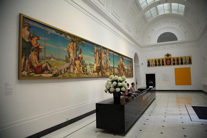 """""""大学旁边就是南澳大利亚美术馆_Art Gallery of South Australia""""的评论图片"""