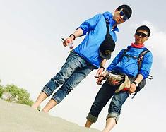 """去南疆:两个""""老男人""""的青春之旅"""