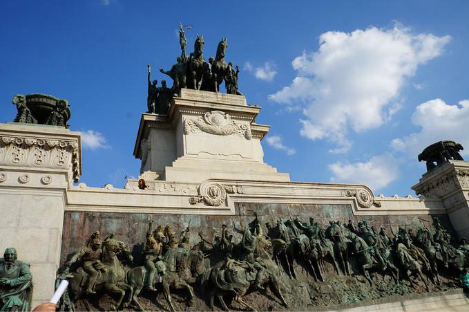 巴西独立纪念碑图片