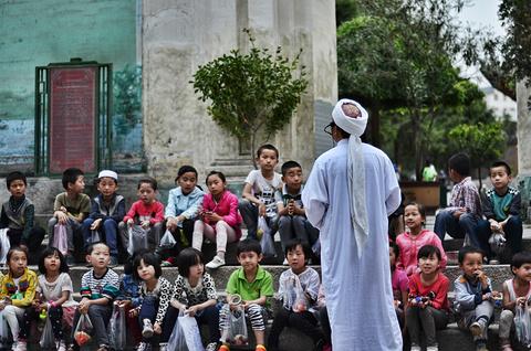 东关清真大寺旅游景点攻略图