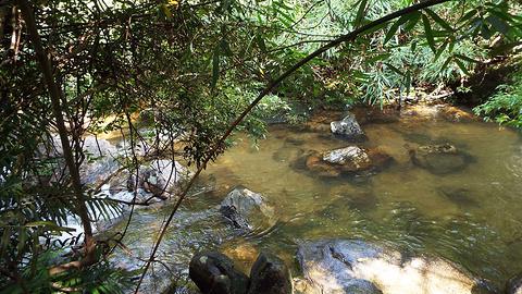 十八水原生态景区旅游景点攻略图