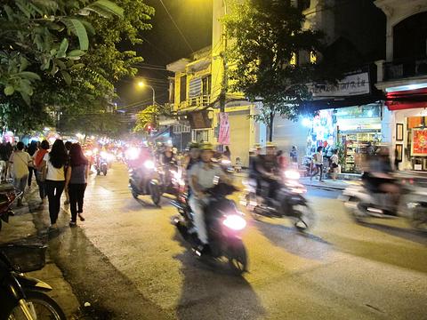 河内夜市旅游景点攻略图
