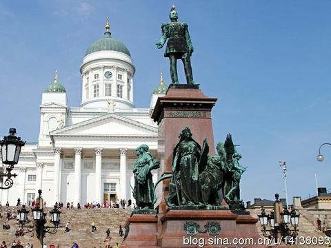 赫尔辛基大教堂旅游景点图片