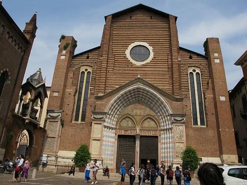 圣阿纳斯塔西亚教堂旅游景点攻略图