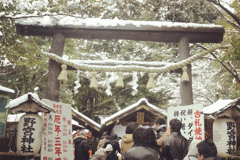 2015日本冬游跨年记