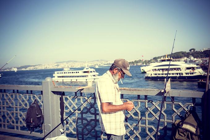 伊斯坦布尔的第一个清晨。图片