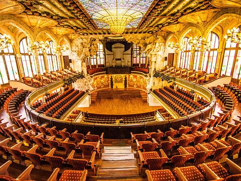加泰罗尼亚音乐宫旅游景点图片
