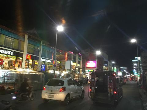 长康路夜市旅游景点攻略图