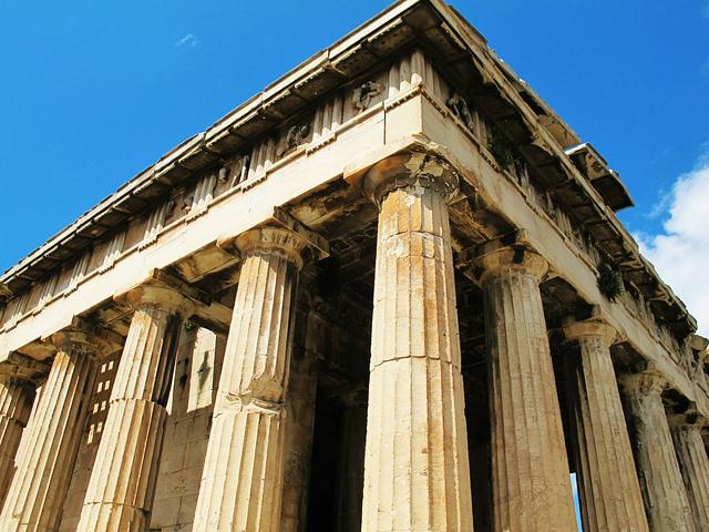 """""""除了这座神庙,简直就是在乱石堆里找遗址,建议来之前看好地图位置,不然真的分不清楚哪是哪儿_赫菲斯托斯神庙""""的评论图片"""