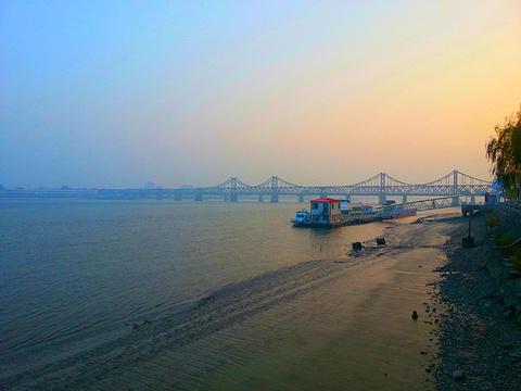 鸭绿江旅游景点攻略图