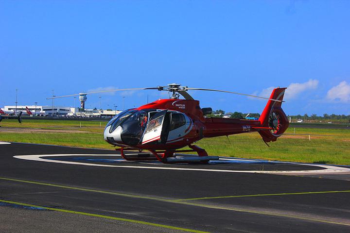 """""""有直升飞机、快艇等各种方式进入_大堡礁""""的评论图片"""