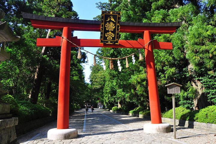 """""""神社大殿是日本现存最古老的""""权现造""""_大崎八幡宫""""的评论图片"""