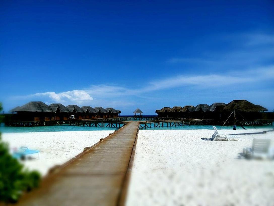 【马尔代夫】最恣意的是无人岛独自漫步!