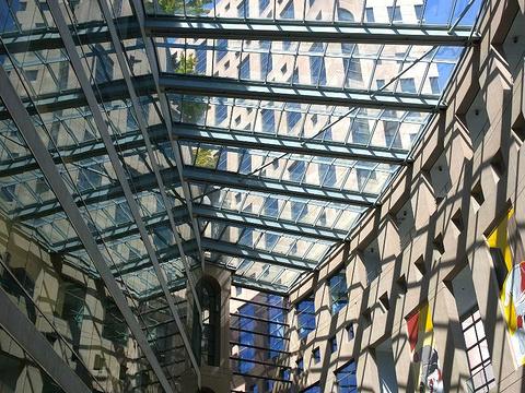 温哥华公共图书馆主馆旅游景点图片