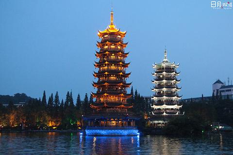 两江四湖的图片