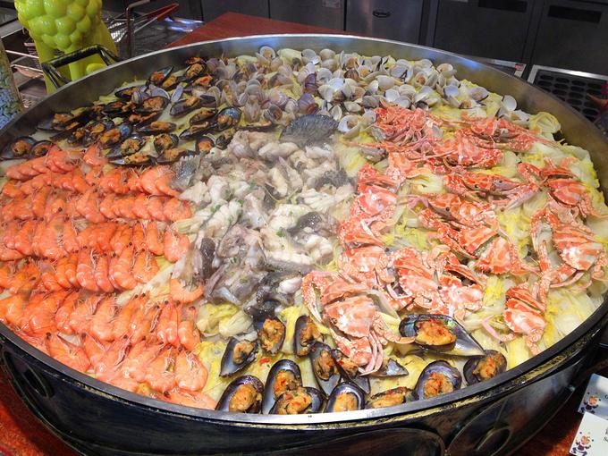 珠海长隆马戏酒店自助午餐图片