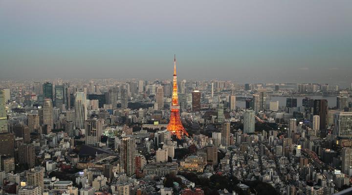 亚洲 日本首都 东京市 - 西部落叶 - 《西部落叶》· 余文博客