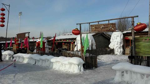 雪博会旅游景点攻略图