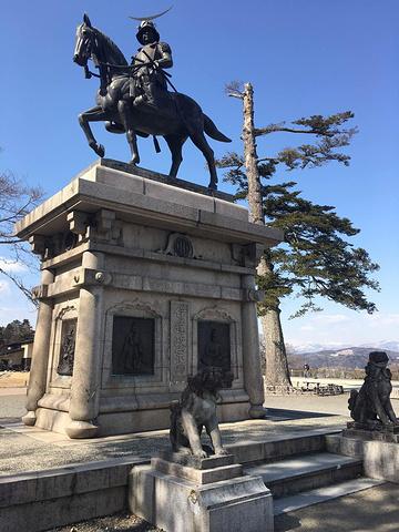 """""""还可以俯瞰整个仙台市 是看全景的最好地方_仙台城遗址""""的评论图片"""