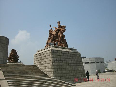 抗美援朝纪念馆旅游景点攻略图