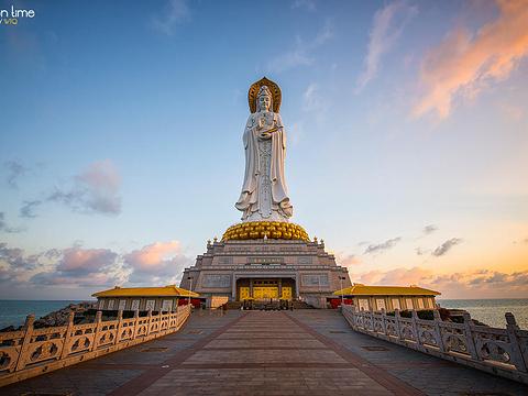 三亚南山海上观音旅游景点图片