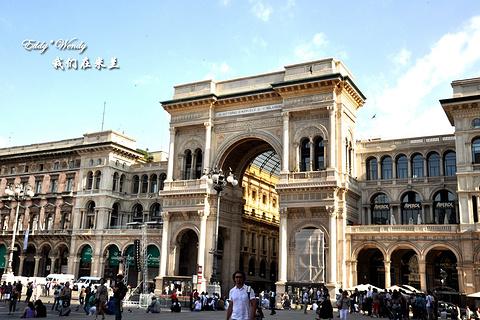 埃马努埃莱二世长廊旅游景点攻略图