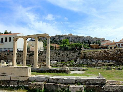 雅典古罗马市集旅游景点图片