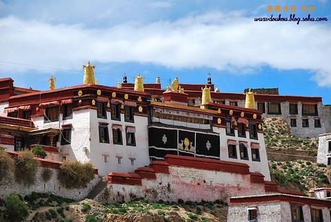 甘丹寺的图片