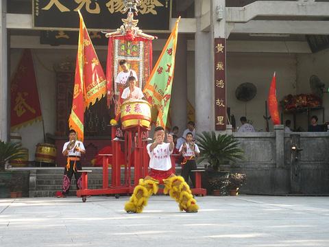 黄飞鸿狮艺武术馆旅游景点图片