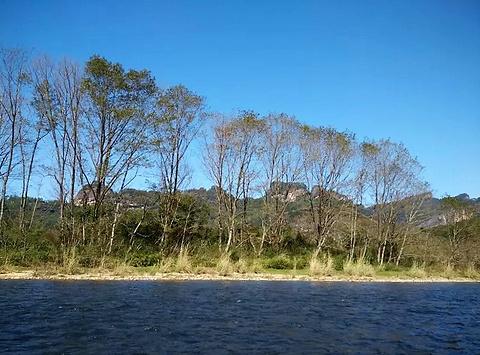 武夷山九曲溪旅游景点攻略图