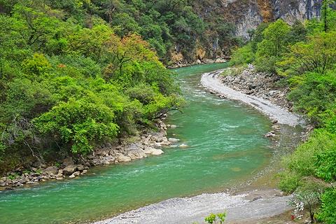 巴拉格宗大峡谷旅游景点攻略图