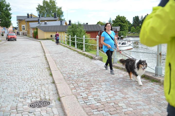 """""""到现在依然有很多芬兰著名诗人和艺术家居住在这里,通常都是周末过来度假的_波尔沃古城""""的评论图片"""