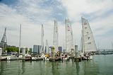 五缘湾海之风帆船航海