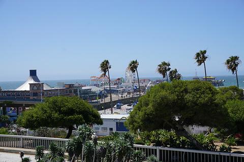 圣莫尼卡海滩旅游景点攻略图