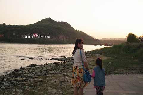嘉陵江旅游景点攻略图