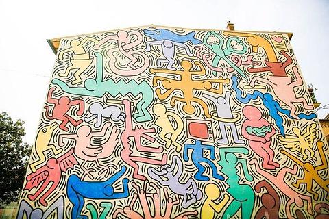 凯斯哈林壁画旅游景点攻略图