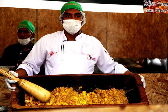 南美最大的美食节图片