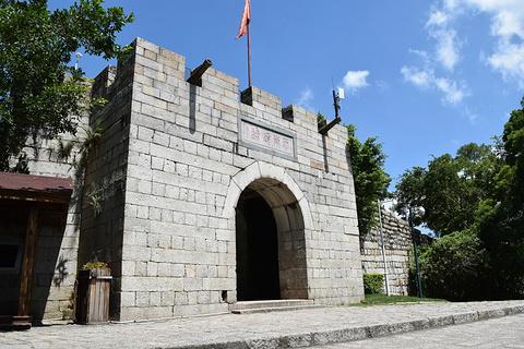 胡里山炮台的图片